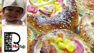 Gerçek Pastane pizzası tarifi-mini pastane pizzası nasıl yapılır?Şef Ahmet TOPAL