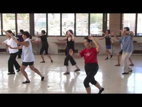 Rehearse for World Tai Chi Day 2017 everydaytaichi lucy chun Honolulu, Hawaii