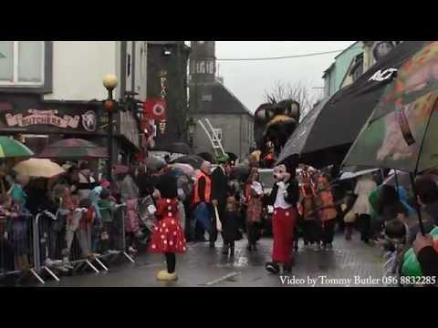 Kilkenny St Patrick's day Parade 2012