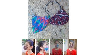 Fabric Mask At Home DIY Face Mask