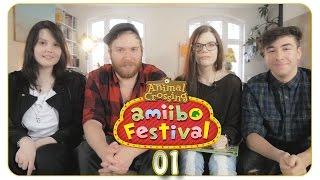 Animal Crossing: amiibo Festival #01 Ein wahres Fest! -  feat. HoneyballLP, m00sician & RyoleHD