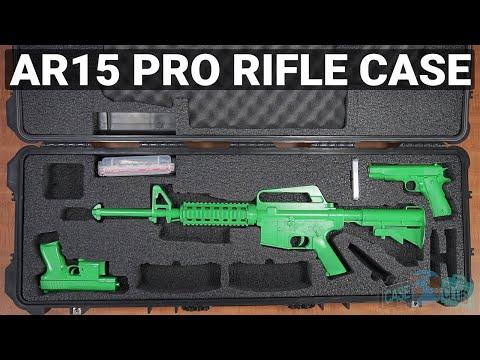 AR15 Pro Rifle Case - Video