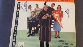 Jack Carson Sings Buckle Down Winsocki from 1957 lp sings favorite college songs