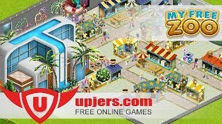 My Free Zoo -- Shopping center in zoo game -- Upjers Screencast