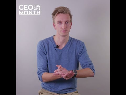 [One-to-One] Maxime, CEO for One Month 2017