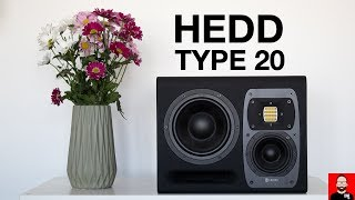 HEDD Audio Type 20: a studio monitor at home