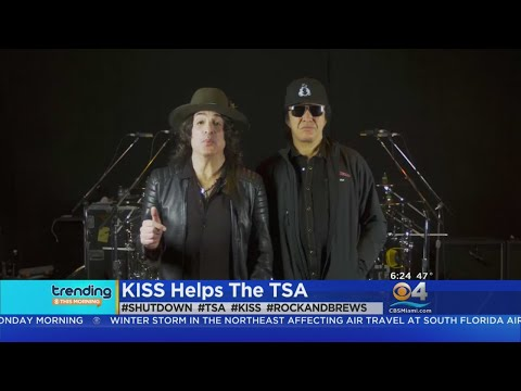 Trending: Rock Group KISS Giving Free Meals To TSA Workers Mp3