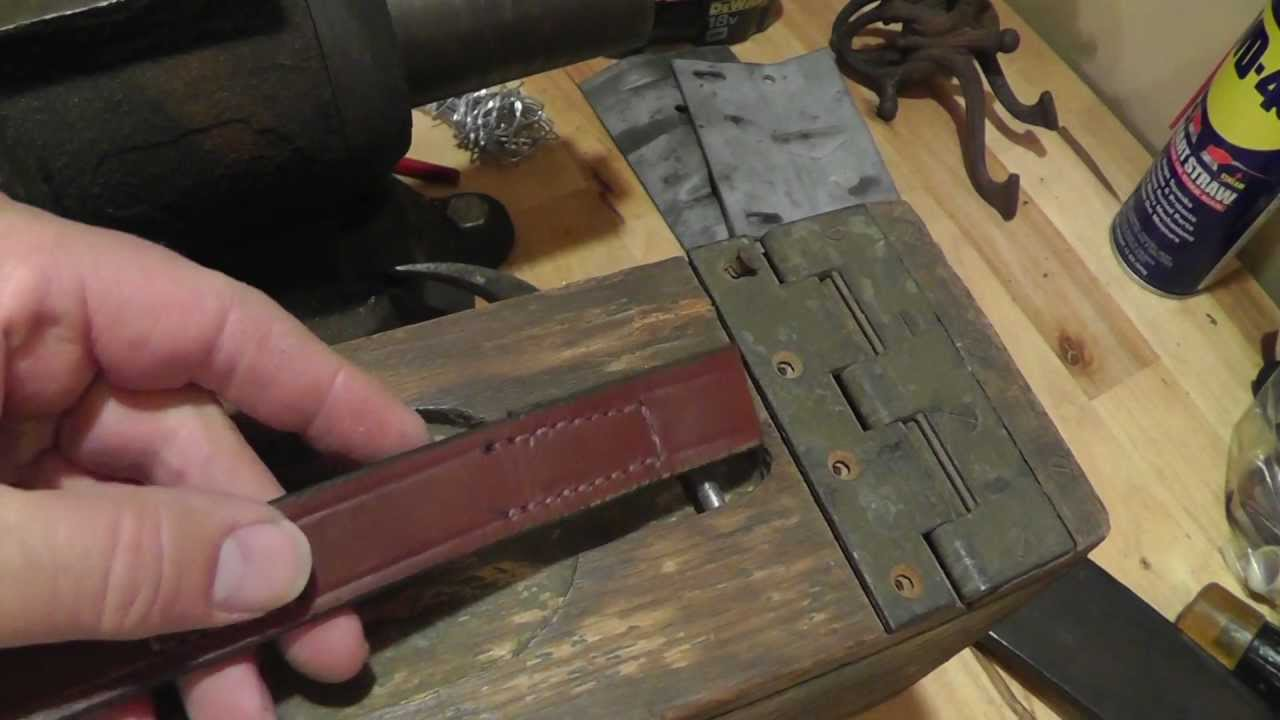 Replacing The Handle On An Old Wood Ww1 Ammo Box
