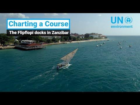 Charting A Course - The Flipflopi docks in Zanzibar