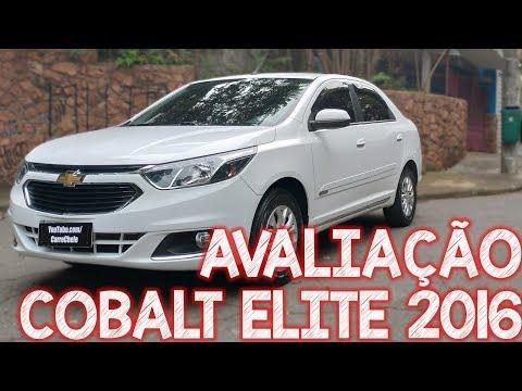 Avaliação Chevrolet Cobalt Elite 2016 - Excelente Para UBER