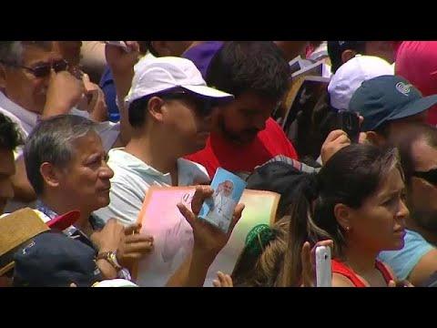 euronews (en español): El papa pone fin a su viaje por Latinoamérica