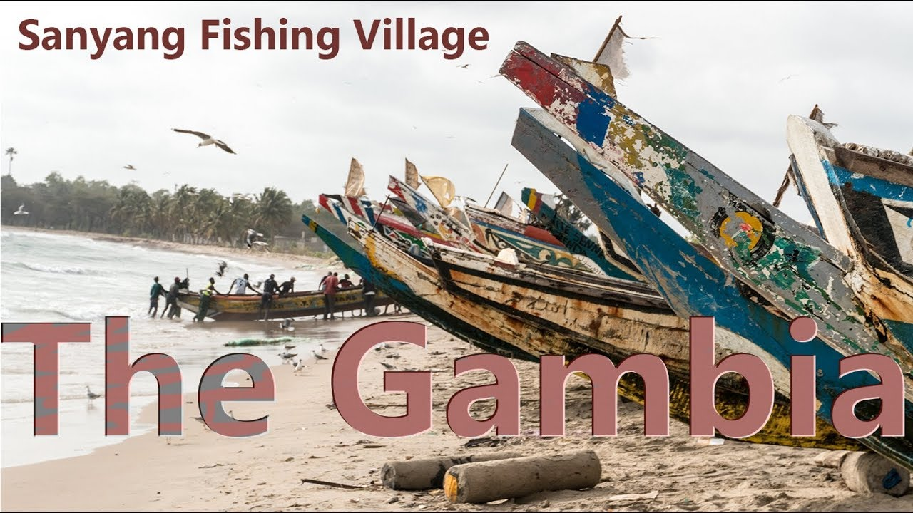 THE GAMBIA // SANYANG FISHING VILLAGE & BEACH // 2018