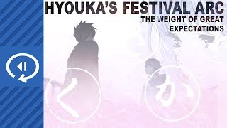 Hyouka's Festival Arc - The Weight Of Great Expectations