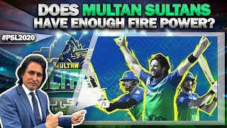 Does Multan Sultans have enough fire power? | Squad Preview PSL 2020