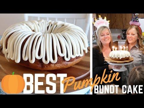 36th Birthday Highlights + 🎃 BEST (Easy!) Pumpkin Bundt Cake Recipe (2018)