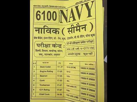 Jobs In Merchant Navy | Can 8th Pass Join Merchant Navy?