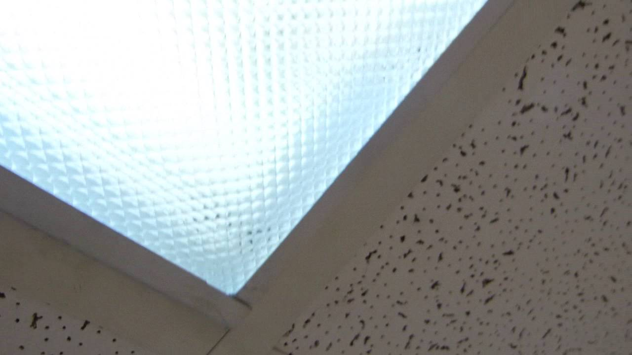 Fluorescent Light Diffuser Panels Accessing Drop Ceiling Neon Lights