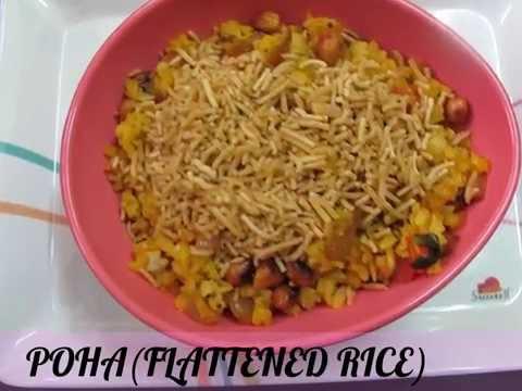 Poha(Flattened rice) recipe!!
