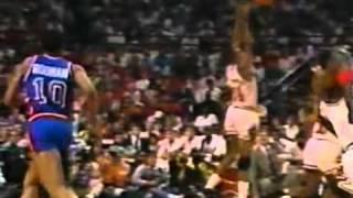 Rodman blocked MJ's shot , and then...