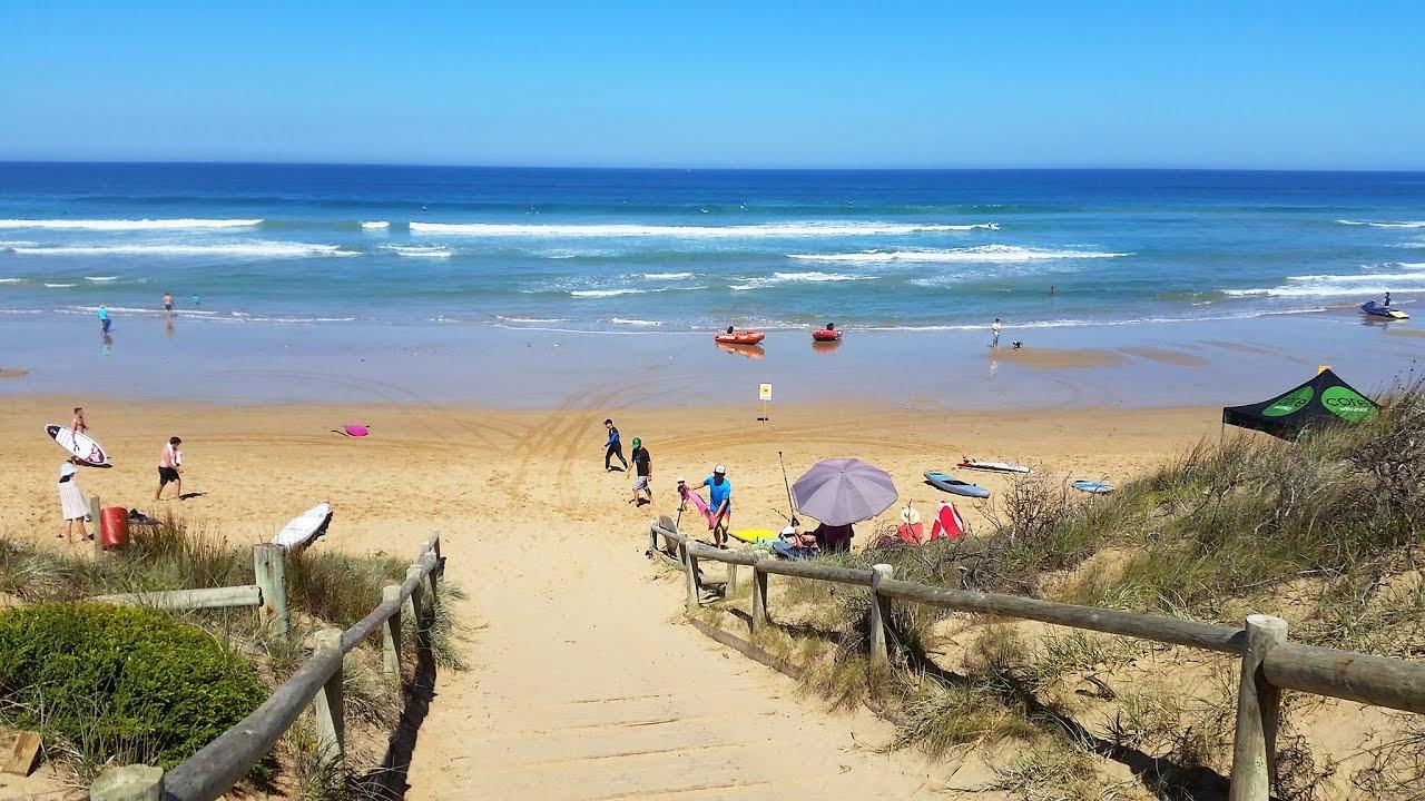 Австралия, Пляжи и Океан - Barwon Heads - Осенний пляж под Мельбурном