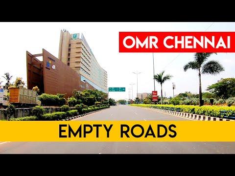 Empty Chennai Roads    OMR Chennai