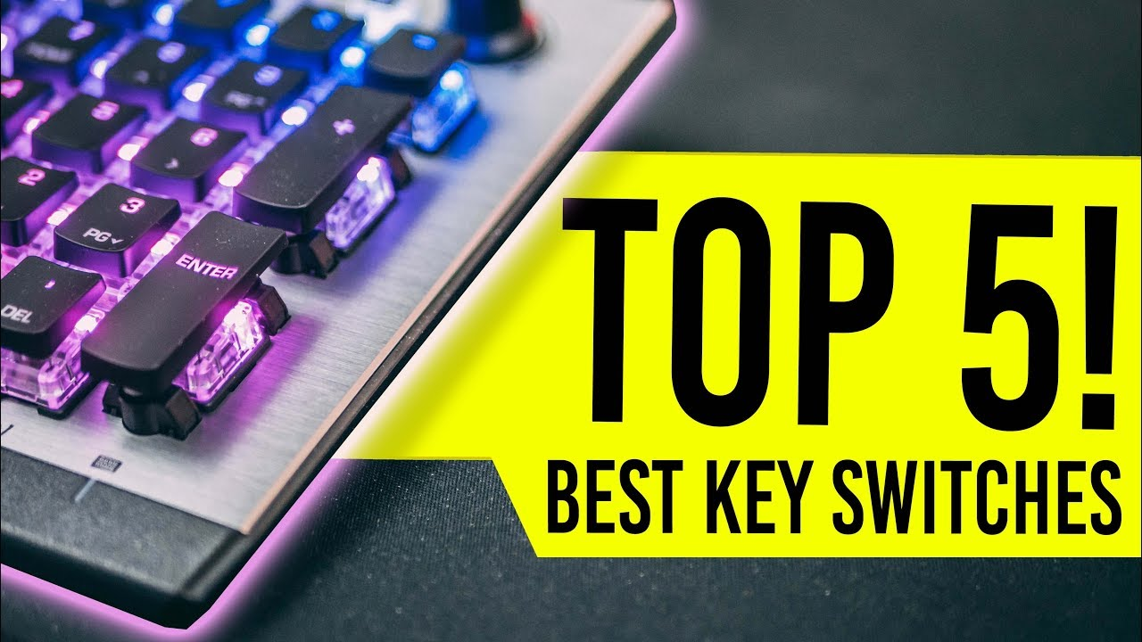 faa3098ae5b TOP 5: Best Mechanical Gaming Keyboard For 2019 - Best Keyboard Switch for  Gaming!