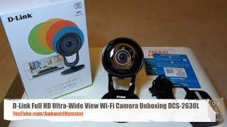 D-Link Full HD Ultra Wide View Wi-Fi Camera Unboxing DCS-2630L