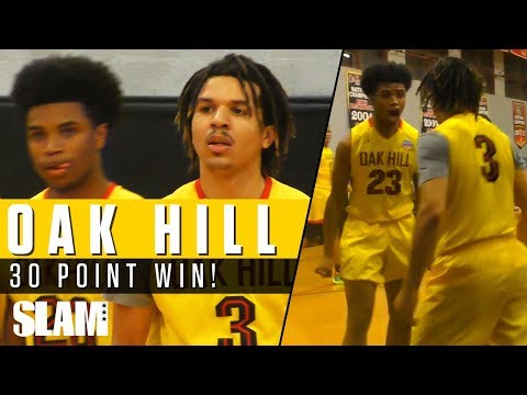 Cole Anthony & Oak Hill Academy win by 30 POINTS!? 👀