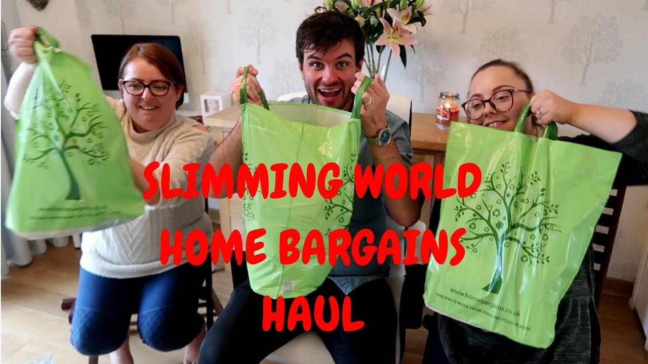 Slimming World Home Bargains Haul With Jane Sw And Helen