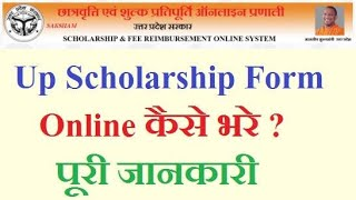 How To Fill UP Scholarship Form 2018 - Sarkari Result