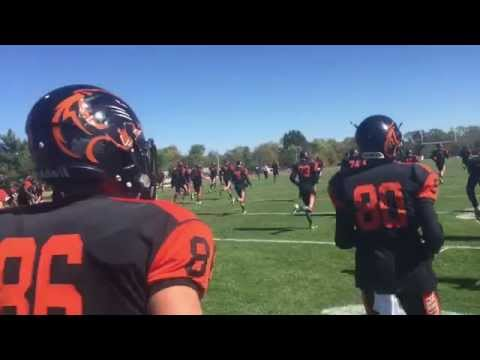 Greenville College Football Highlights vs. MacMurray