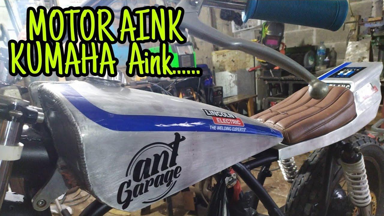 bengkel motor custom - YouTube