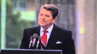 "Ronald Reagan: ""Mr. Gorbachev, Tear Down This Wall!"""