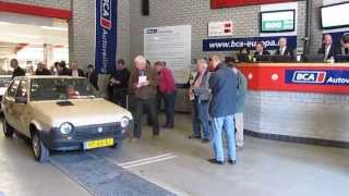 Fiat Ritmo 1982 in mint condition gets poor biddings @ classic car auction