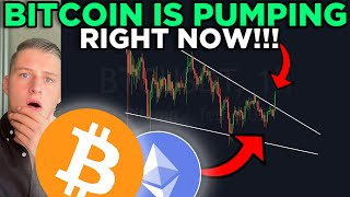 BITCOIN IS BREAKING OUT OF THIS FALLING WEDGE!! CARDANO ABOUT TO EXPLODE!!!