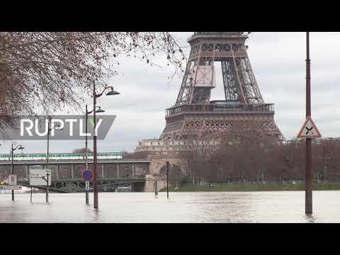France: River Seine rises ever higher, 1,500 evacuated in Paris region