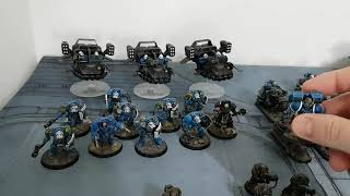 Thousand Sons v Space Marines, 9th edition Warhammer 40k battle report