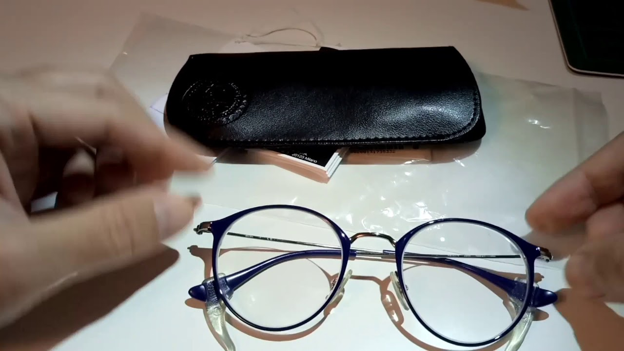 Ray Ban Clip-On RX2180C on RX6378 Eye Glasses - YouTube 70292f1775