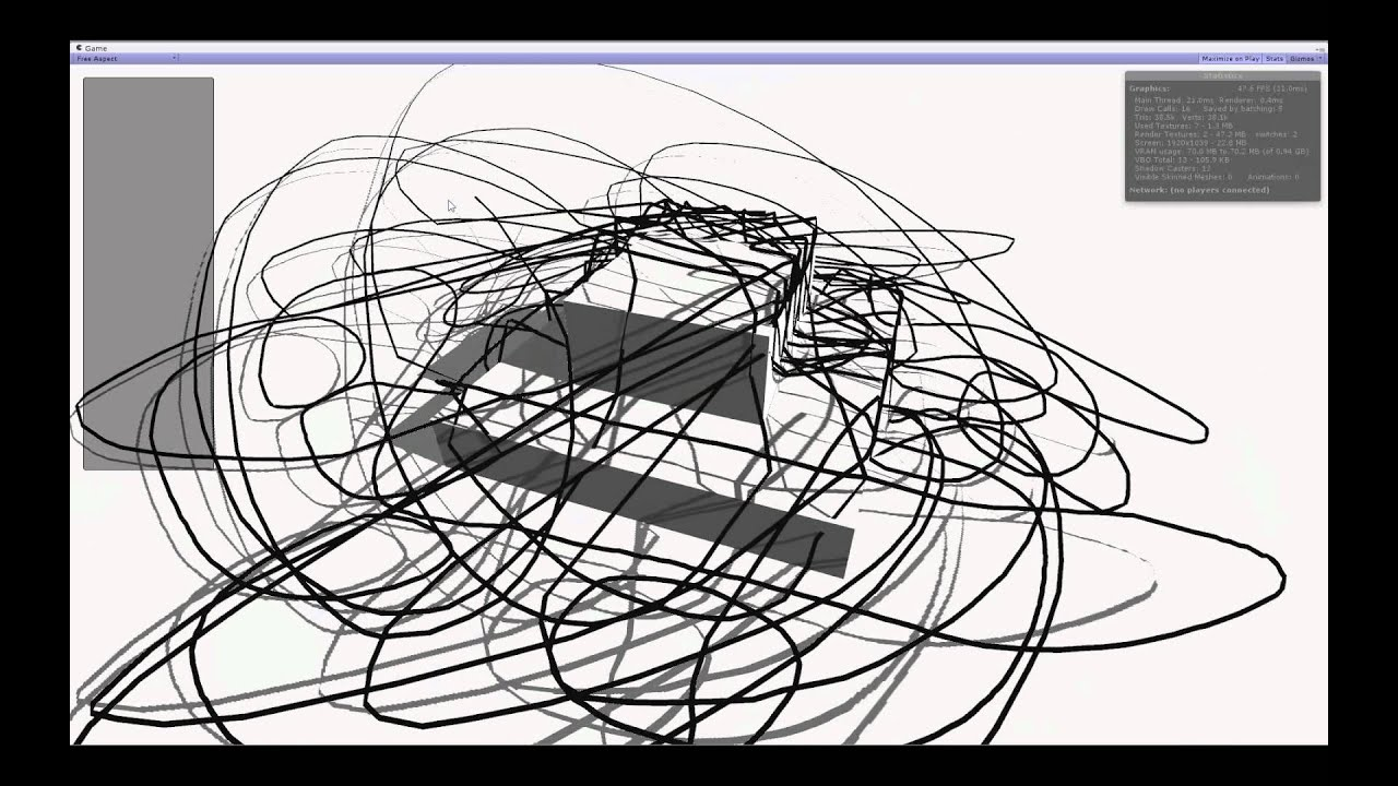 Unity Line Art Map : Unity line drawing demo youtube