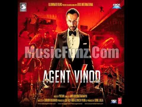 Raabta Siyaah RaateinAgent Vinod 2012 FULL SONG