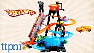 Hot Wheels City Ultimate Gator Car wash Playset from Mattel