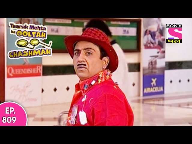 Taarak Mehta Ka Ooltah Chashmah - तारक मेहता - Episode 809 - 11th October, 2017