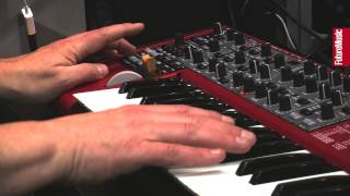 Musikmesse 2013: Nord Lead 4 performance synthesizer