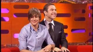 David Walliams and Zac Efron - The Graham Norton Show BBC TWO
