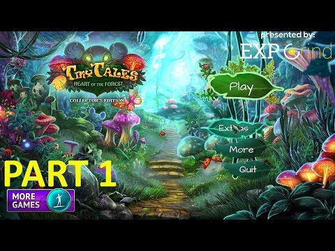 Tiny Tales: Heart of the Forest - Gameplay Part 1 - Hidden Object Games Walkthrough [STEAM] [PC]