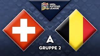 "Schweiz - Belgien (18. November) | Nations League ""FIFA 19"