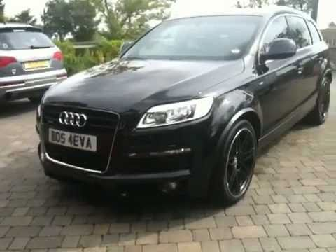 Blacked Out Audi Q7 Youtube