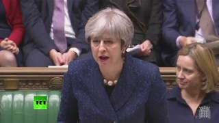 LIVE: May gives MPs update on Brexit in Commons