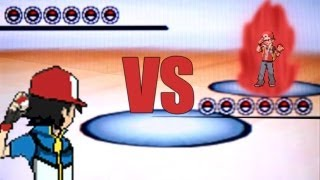 Pokemon Black and White 2 Wifi Battle - Ash Vs Red