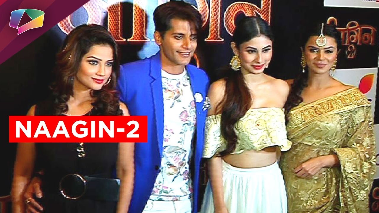 Meet Mouni Roy and the entire Naagin-2 star cast - YouTube